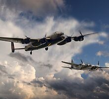 Lancaster and Mosquito Legends by J Biggadike