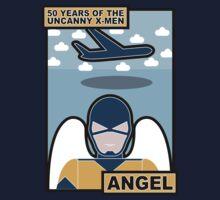 Uncanny X-Men 50th Anniversary - Angel by Ian Taylor