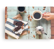Coffee For Two Metal Print