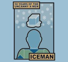 Uncanny X-Men 50th Anniversary - Iceman by Ian Taylor
