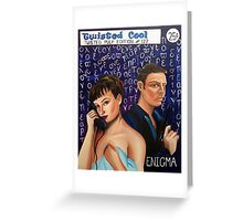 Enigma, Twisted Cool Pulp Art edition 122 Greeting Card