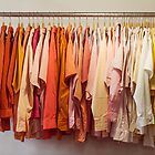 Clothing Rack With Shirts by visualspectrum