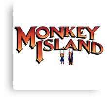 Monkey Island in Chains Canvas Print