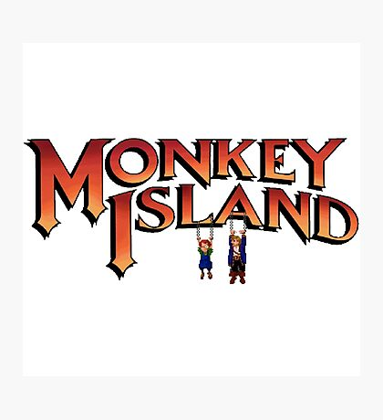 Monkey Island in Chains Photographic Print