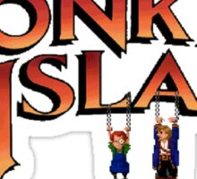 Monkey Island in Chains Sticker