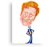 Conan O'Brien - No Strings Attached Canvas Print