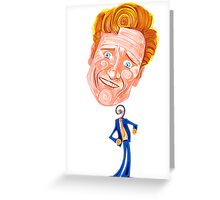 Conan O'Brien - No Strings Attached Greeting Card