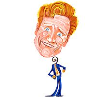 Conan O'Brien - No Strings Attached Photographic Print