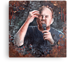 Louis C.K. - Comic Timing Metal Print