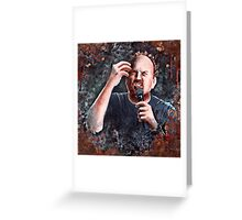 Louis C.K. - Comic Timing Greeting Card