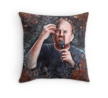 Louis C.K. - Comic Timing Throw Pillow