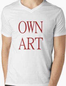 Own Art Mens V-Neck T-Shirt