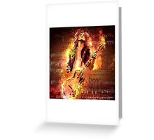 Jimmy Page - Rock and Roll Greeting Card