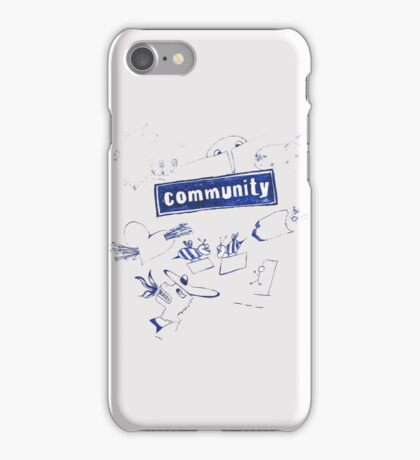 Community iPhone Case/Skin
