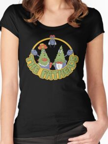Rocko's Modern Life - The Fatheads Women's Fitted Scoop T-Shirt