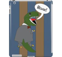Male T-Rex Dinosaur in Suit iPad Case/Skin