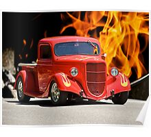 1935 Ford Pick-Up Truck II Poster