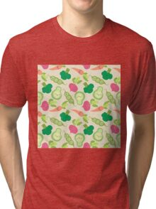 VEGETABLE PARTY! Tri-blend T-Shirt