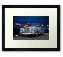 1960 Mercedes 220SE Cabriolet Framed Print