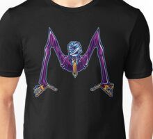 M is for Mummified Slender Man Unisex T-Shirt