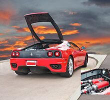 2001 Ferrari F1 360 Spider III w/Eng Detail by DaveKoontz