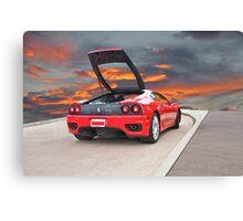 2001 Ferrari F1 360 Spider II Canvas Print