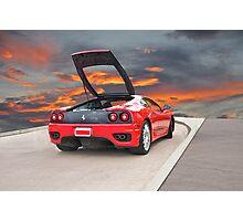 2001 Ferrari F1 360 Spider II Photographic Print