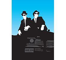 Blues Brothers Minimalist Image Photographic Print
