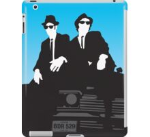Blues Brothers Minimalist Image iPad Case/Skin