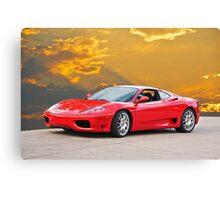 2001 Ferrari F1 360 Spider I  Canvas Print