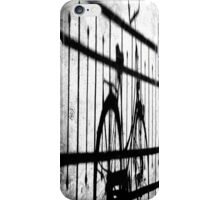 Bicycle and shadow iPhone Case/Skin