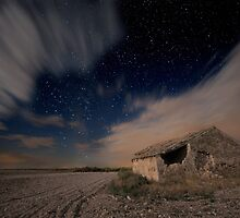 Ruins at Night by Max Corbacho