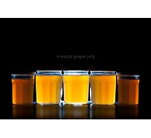Muscat Grape Jelly (4:3ish version) Photographic Print