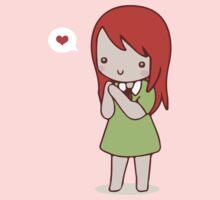 Cute girl chibi by CrimsonJS