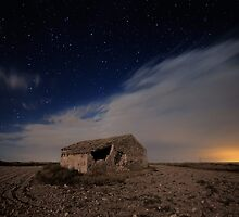 Ruins at Night II by Max Corbacho