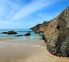 Kynance Cove, Cornwall by Ludwig Wagner