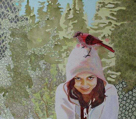 A little Birdie told me by Sandrine Pelissier