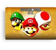 The Hangover Bros. (Print Version) Canvas Print