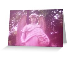 Angel - Père Lachaise Cemetery Greeting Card