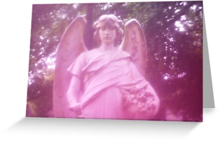 Angel - Père Lachaise Cemetery by Jessica Reilly