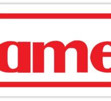 NES Gamer RED Sticker