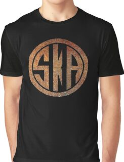 Cool Ska Rusty Ring Graphic T-Shirt