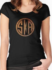 Cool Ska Rusty Ring Women's Fitted Scoop T-Shirt