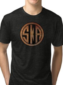 Cool Ska Rusty Ring Tri-blend T-Shirt