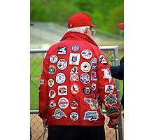 The Baseball Fan Photographic Print