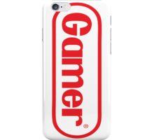 NES Gamer RED iPhone Case/Skin