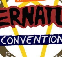 first annual supernatural convention Sticker