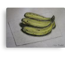 Bananas Sketch - Still Life Canvas Print