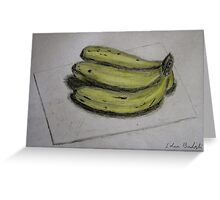Bananas Sketch - Still Life Greeting Card