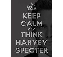 Harvey Specter - Keep Calm Photographic Print
